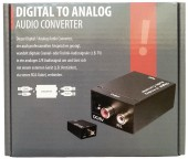 Convertor digital Optic / Coaxial la RCA analogic